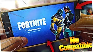 HOW TO PLAY FORTNITE FOR ANDROID NON-COMPATIBLE ? FREE