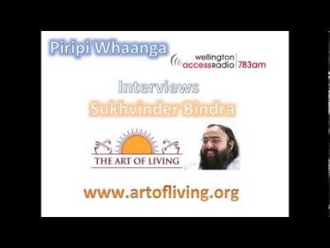 Sukhvinder Bindra interviewed by Piripi on Access radio Wellington