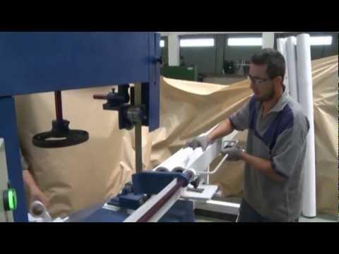 Serra fita para corte de papel rebobinado youtube - Papel de vinilo para cocinas ...