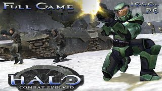 Halo: Combat Evolved (PC) - Full Game 1080p HD Walkthrough - No Commentary