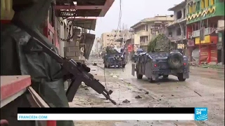 Mosul offensive  Facing snipers, mortars and heavy rain, Iraqi forces gain ground on ISIS fighters