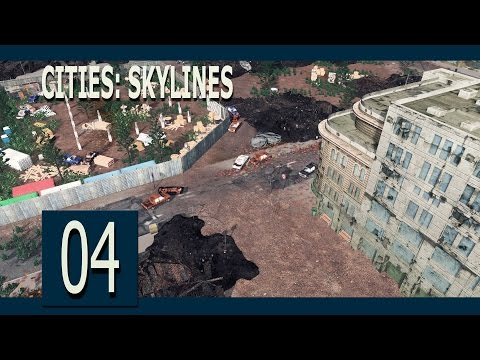 Cities:Skylines Ep4 - The ghost town