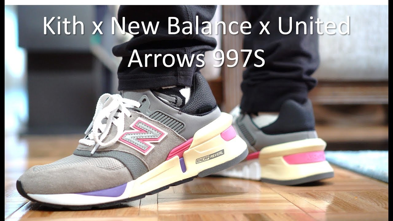 best sneakers 06de8 0f94d 997S Kith x New Balance x United Arrows - Review & On-Feet