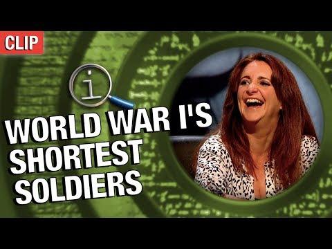 QI  World War One's Shortest Soldiers