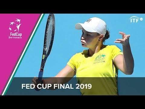 Fed Cup Final 2019 | Ashleigh Barty Practice Session | ITF