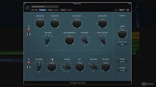 Logic Pro X 100: Whats New in Logic Pro X10.4 - 3. Vintage Tube EQ