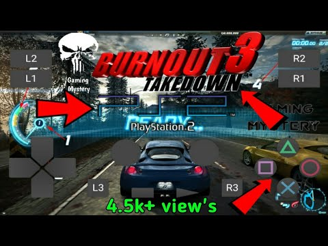 🔥🔥OMG! Burnout 3 Takedown Offical Android Must!Watch It's Possible?
