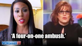 I was ambushed by Joy Behar and The View | Kim Klacik