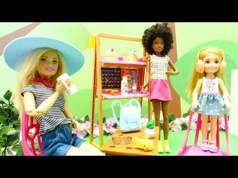 Barbie ailesi. Chelsea tatil alışverişi yapıyor