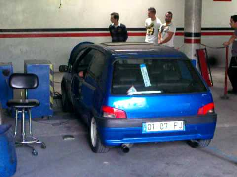 Peugeot 106 xsi fj aka fiesta ga dyno day jc motorsport for Interieur 106 xsi
