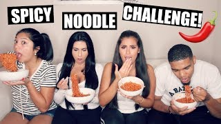 SPICY NOODLE CHALLENGE!!! (I COULDN