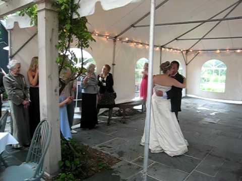 Anne and Morgan dancing to Little Miss Magic at Anne and Steve's wedding