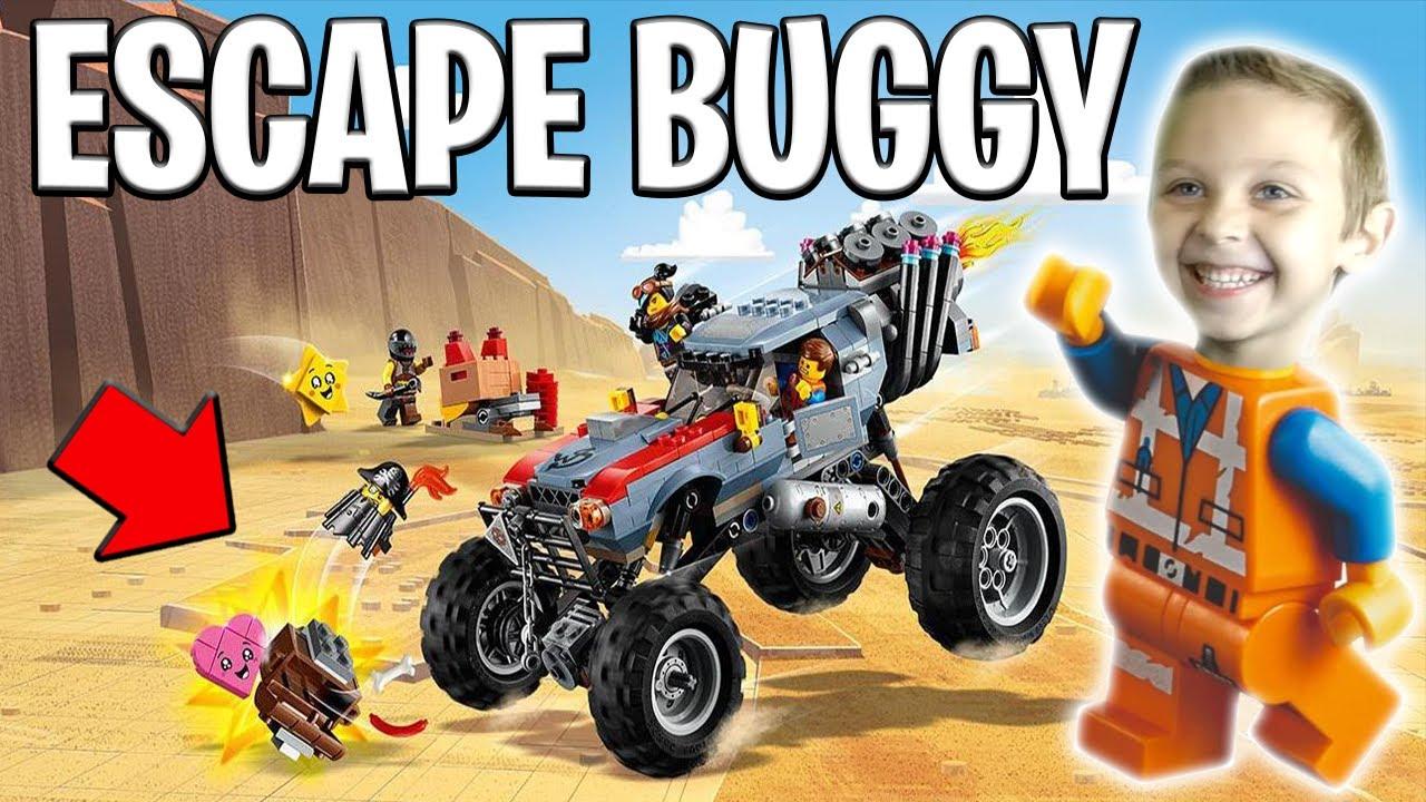 Lego 70829!! Emmet & Lucy's Escape Buggy Review! • BTT