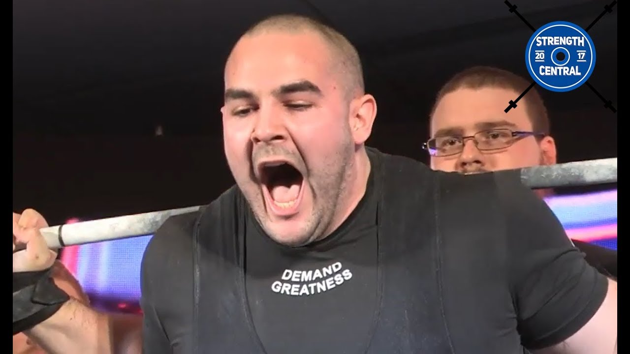 Joey Flexx - 1st Place 120 kg - A7 Pro Raw (Arnold) - 847 5 kg