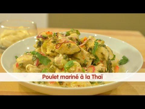 Recette de poulet marin fa on tha 750 grammes youtube for Cuisine 750 video