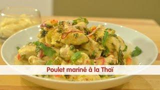 Recette de Poulet mariné façon Thaï- 750 Grammes