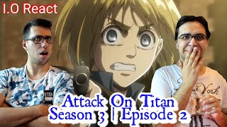"""Gambar cover Attack On Titan 3x02 """"Pain"""" REACTION!"""