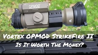 Quality Affordable Red Dot: Vortex OPMOD StrikeFire II | Geauga Firearms Academy