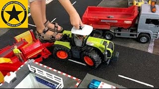 BRUDER TRACTORS for Children FARM WORLD all machinery in! PART 6
