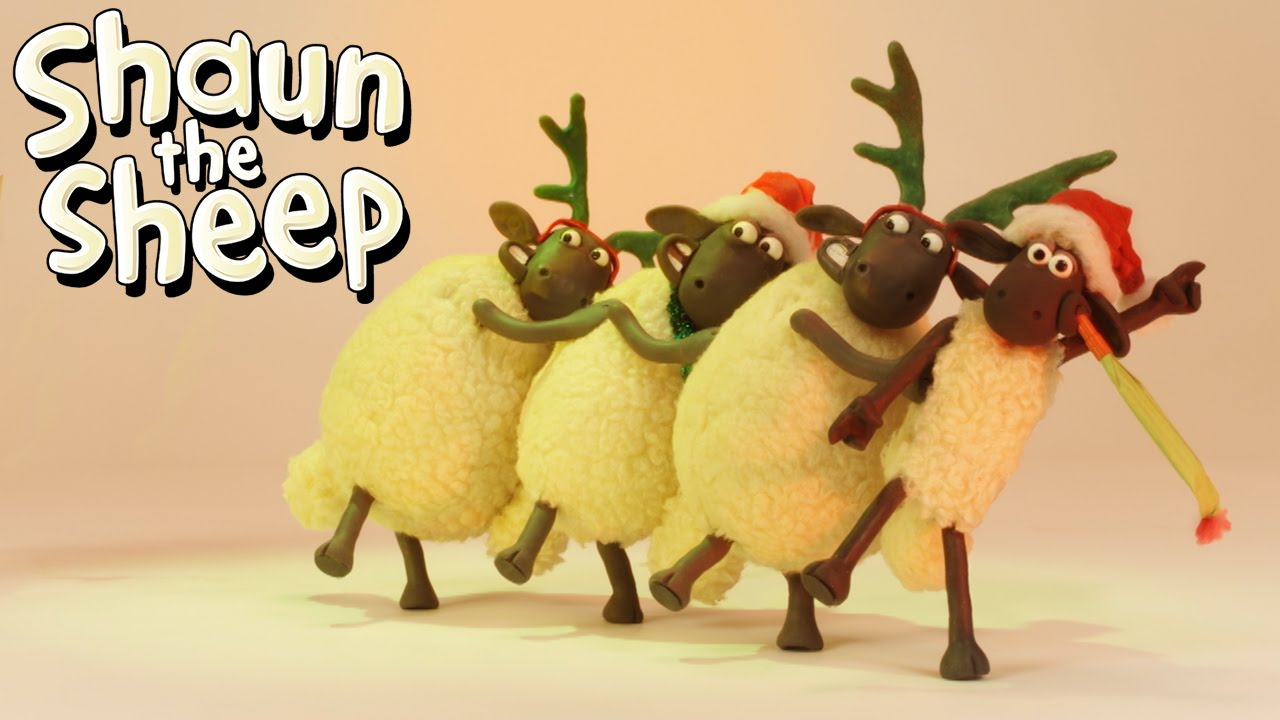 Shaun the Sheep - Christmas Conga!