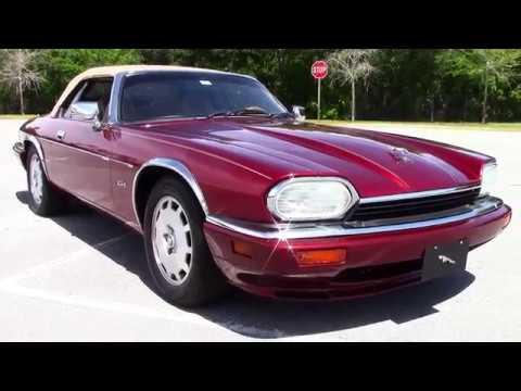 1996 Jaguar Xjs Convertible Youtube