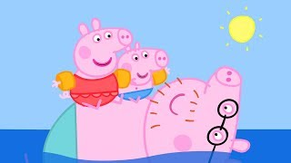 Peppa Wutz | Schwimmen - Zusammenschnitt | Peppa Pig Deutsch Neue Folgen | Cartoons für Kinder