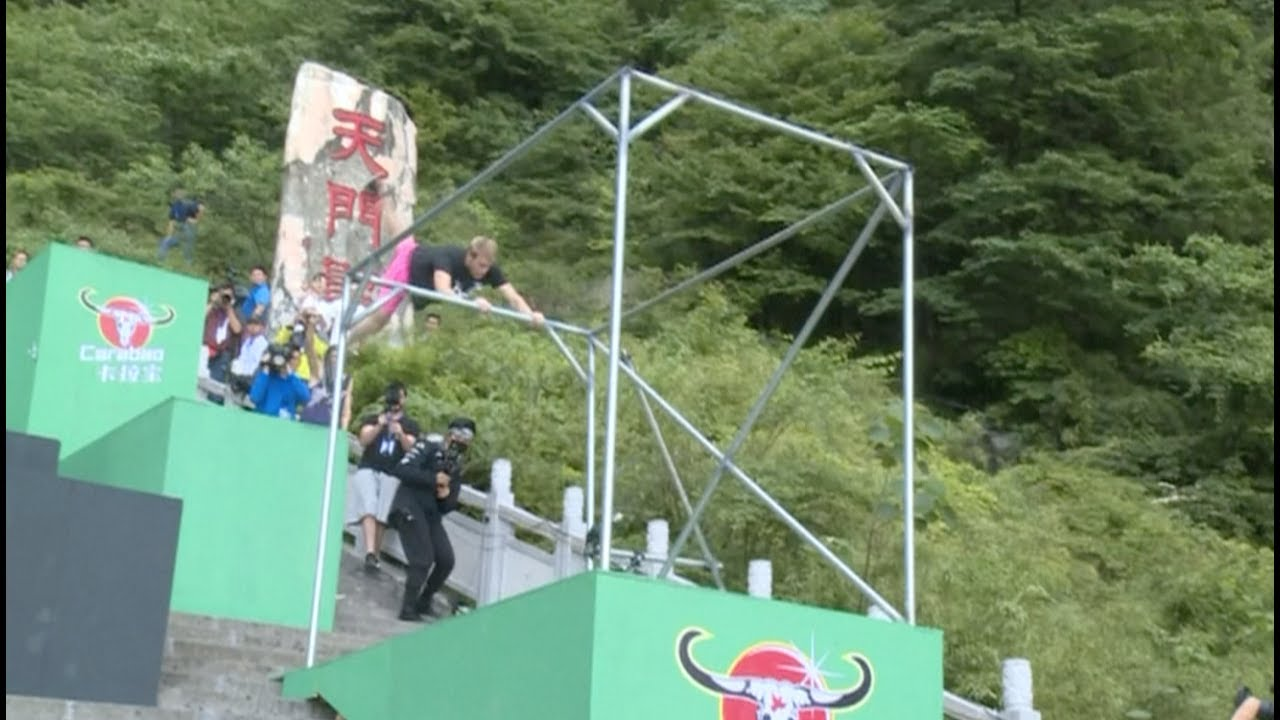 Parkour Competition Gives Visual Feast to Tourists at the ...