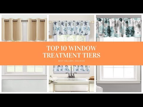 ✔️ TOP 10 BEST WINDOW TREATMENT TIERS 🛒 Amazon 2019