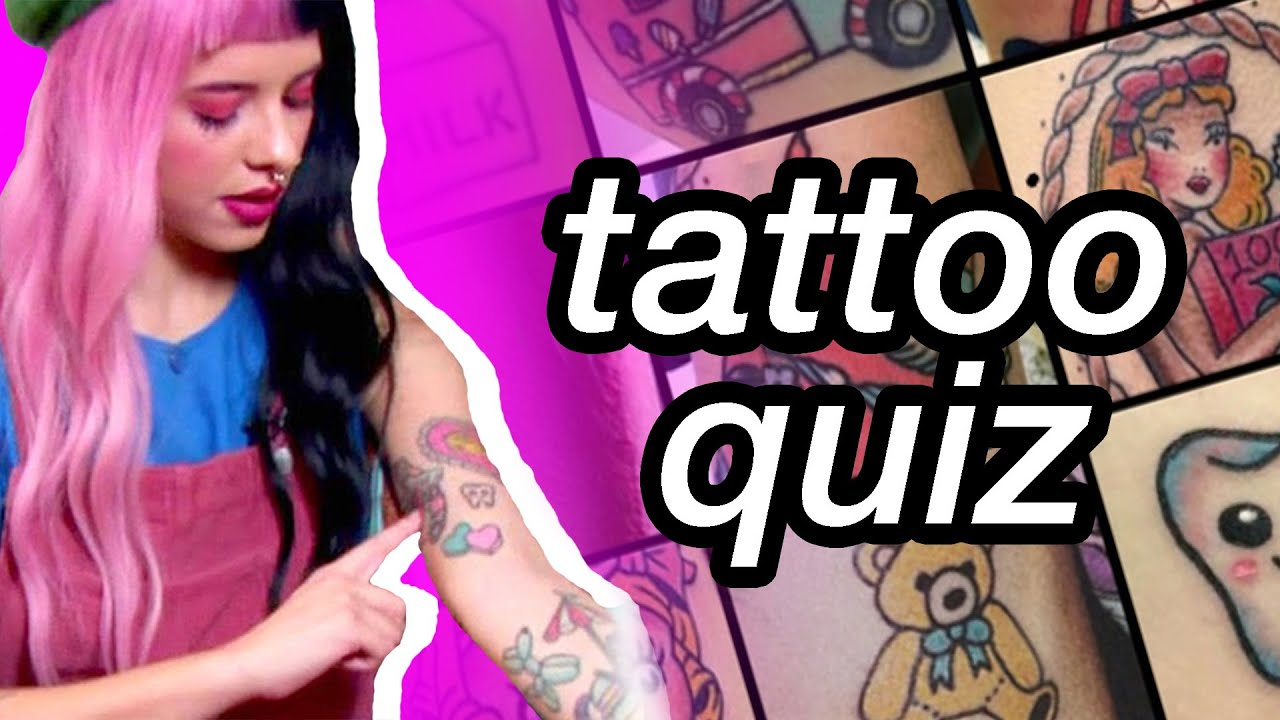 what melanie martinez song are you based on your favorite tattoo | melanie martinez quiz