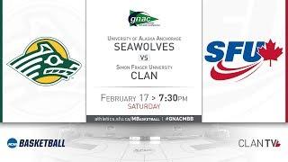 SFU Men's Basketball vs. UAA - February 17, 2018 thumbnail