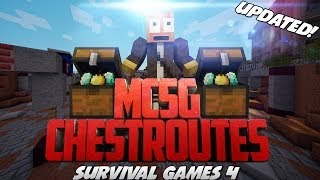 MCSG Chest Routes | Survival Games 4 (Updated)