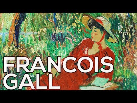 Francois Gall: A collection of 234 paintings (HD)
