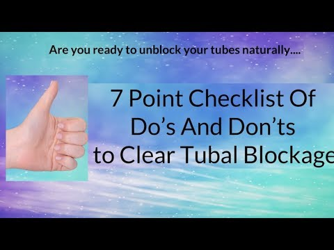 7-point-checklist-of-do's-and-don'ts-to-clear-tubal-blockage