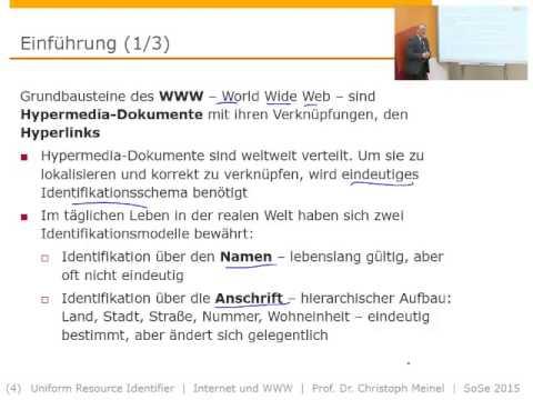 Internet- und WWW-Technologien (SS 2015), URI - Uniform Resource Identifier