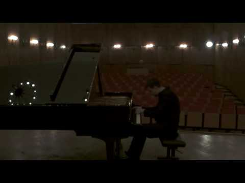 "Sergei Lyapunov-Transcendental Study no.8 ""Chant Epique""-Misha Krivoruchko"