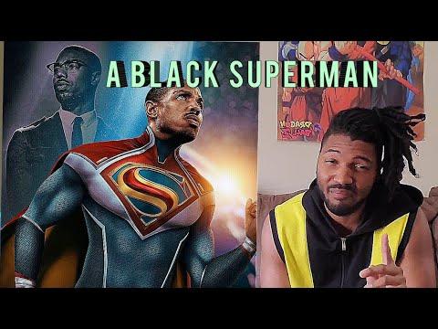 A black superman movie.  why??? #dccomics #dc #warnerbros