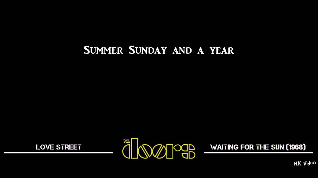 sc 1 st  YouTube & Lyrics for Love Street - The Doors - YouTube