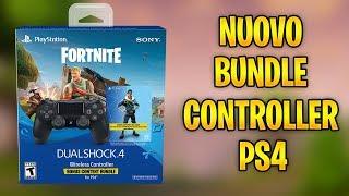 SCOPERTO NUOVO BUNDLE FORTNITE! CONTROLLER PS4 + 500 VBUCKS E SKIN ROYALE BOMBER!