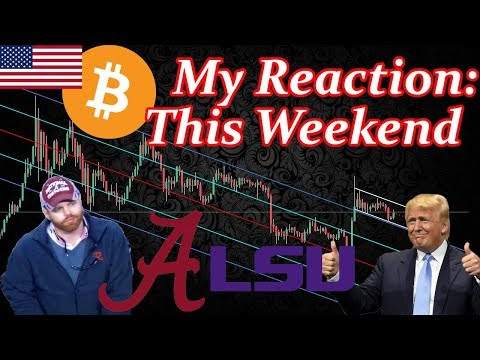 My Reaction To President Trump, College Football and Bitcoin (BTC) This Weekend