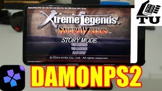 Samurai Warriors: Xtreme Legends DamonPS2 Pro PS2 Games on smartphones/Android/emulator