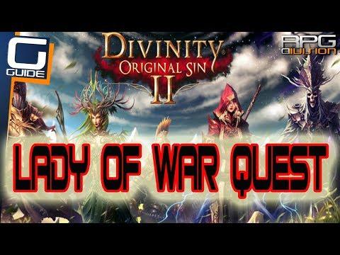DIVINITY ORIGINAL SIN 2 - Lady Of War Qu