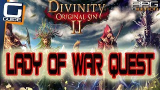 DIVINITY ORIGINAL SIN 2 - Lady Of War Quest Walkthrough (Lady Vengeance)