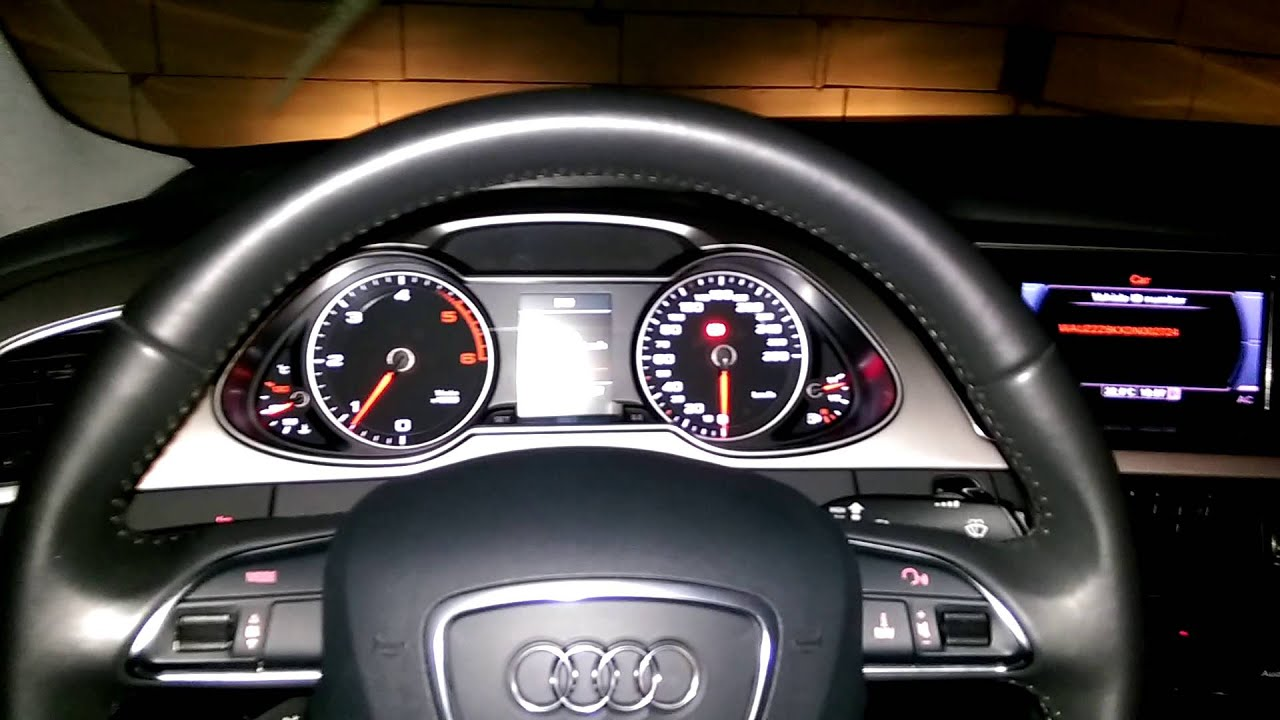 audi a4 b8 interior youtube. Black Bedroom Furniture Sets. Home Design Ideas