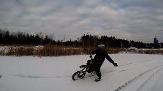 IRBIS TTR 125 Winter moto (Sobinka)(http://vk.com/pbminimotocross В этой группе вы можете задавать вопросы про пит байк , или же отвечать на вопросы других..., 2014-12-14T19:04:13.000Z)