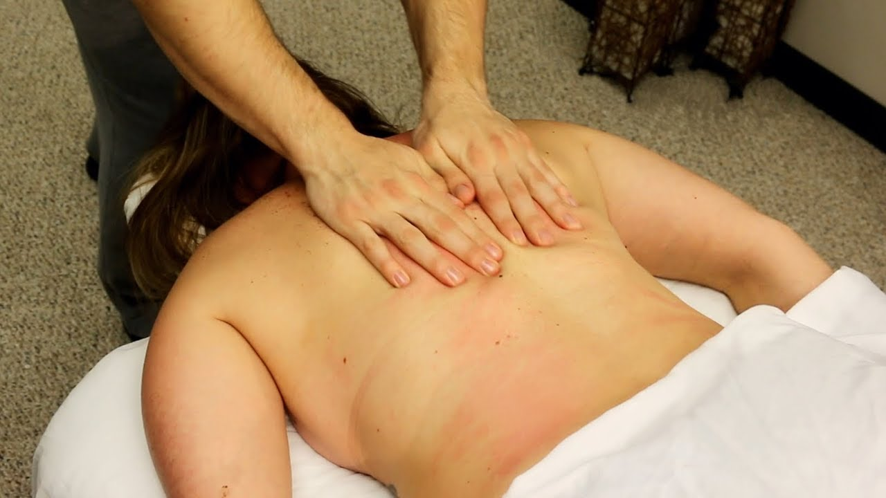 4 Different Back Massages No Talking Relaxation