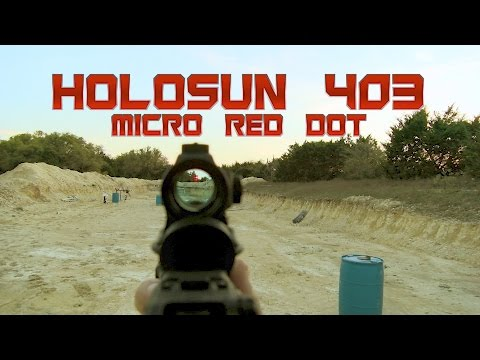 Holosun Micro Red Dot (HS403A / HS403B) Review & Overview || The Bullet Points