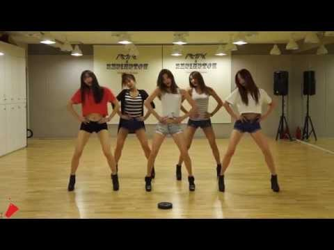 EXID Up & Down mirrored Dance Practice