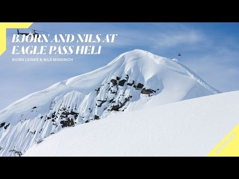TW snowboard video Legend Bjorn Leines Teaches Nils Mindnich the Fundamentals of Heliboarding