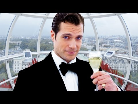 Henry Cavill Invites You to Drink Champagne in London // Omaze