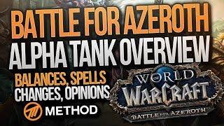 BFA Alpha Tank Overview  Impressions - Method Sco